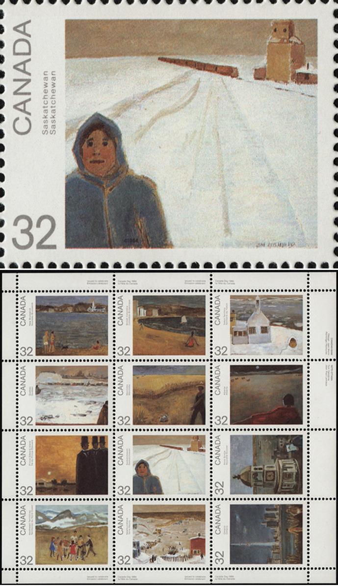 Saskatchewan, Canada Day 1984 series