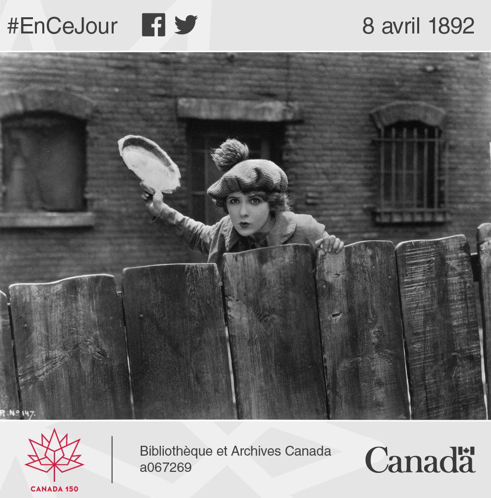 Mary Pickford dans le rôle de la petite Annie Rooney.