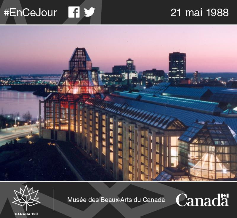 Vue splendide du Musée des beaux-arts du Canada situé sur la promenade Sussex, à Ottawa.
