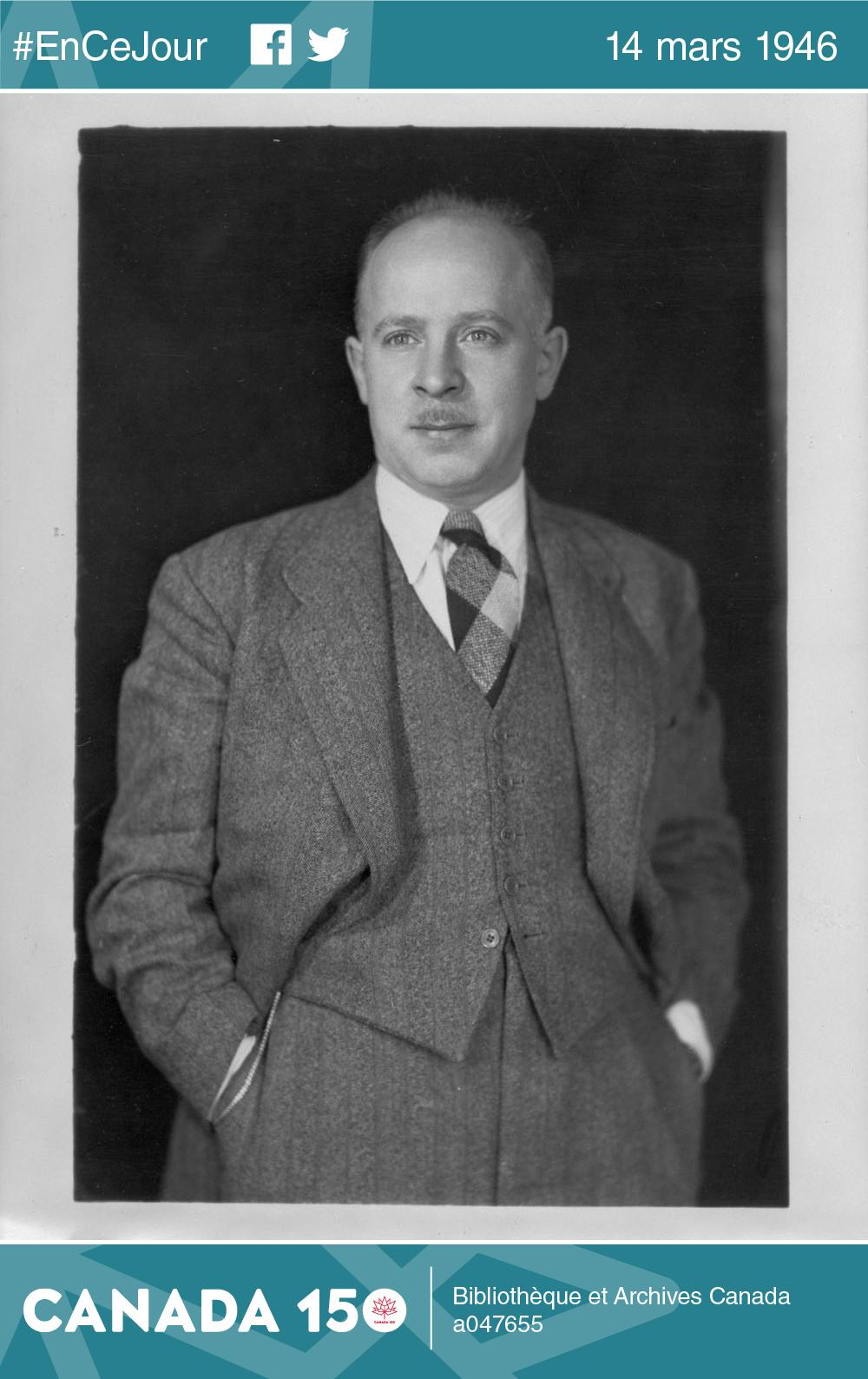 Photo de Fred Rose entre 1942 et 1948.
