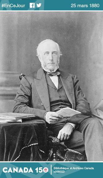 Photo de George Brown, 1818-1880.